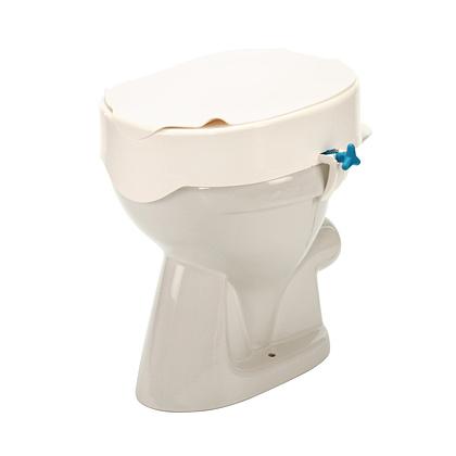 REHOTEC Nástavec na WC s fixací a poklopem